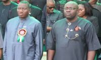 Jonathan, Dickson  Deny Growing Hostility  ... As peace moves intensify