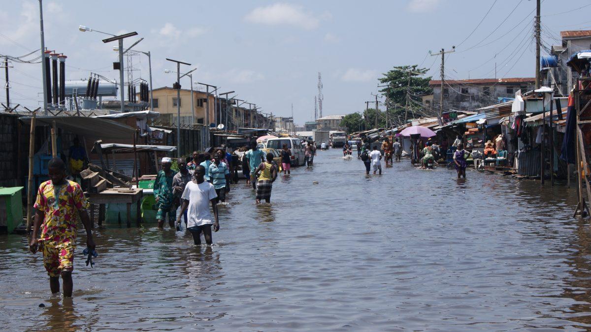 Flood overruns Igwuruta