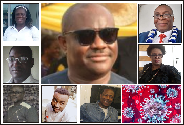Mixed reactions trail Wike's lockdown order
