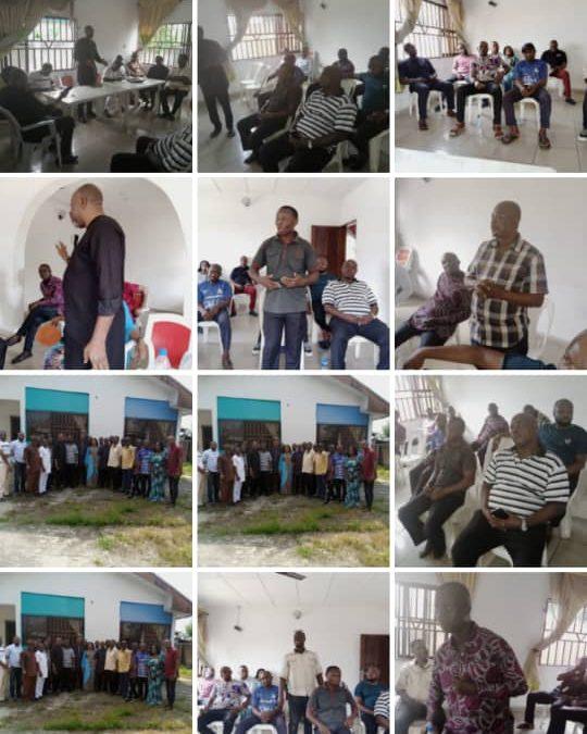 Rivers APC members at the grassroots embark on peace drive,  close ranks