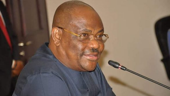 Caught in the act: Wike extols Amaechi